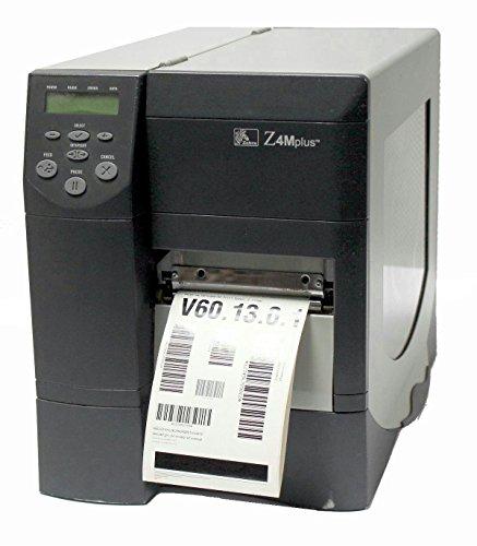 Tt Barcode Printer - Zebra Z4M Plus Z4M00-2201-0020 TT/DT Barcode Printer (Parallel/Serial) 203DPI
