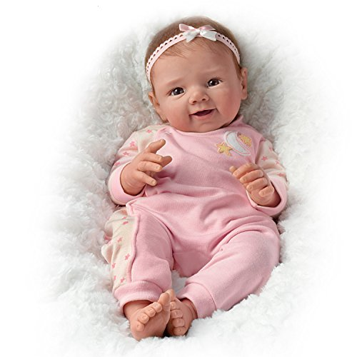 17 Quot Sherry Rawn Lifelike Weighted And Poseable Baby Girl