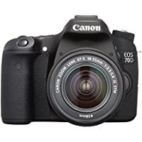 Canon DSLR camera EOS70D lens kit EF-S18-55mm F3.5-5.6 IS STM comes EOS70D1855ISSTMLK [International Version, No Warranty]