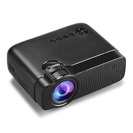 ZDNP LED HD de Escritorio Conveniente al hogar del proyector ...