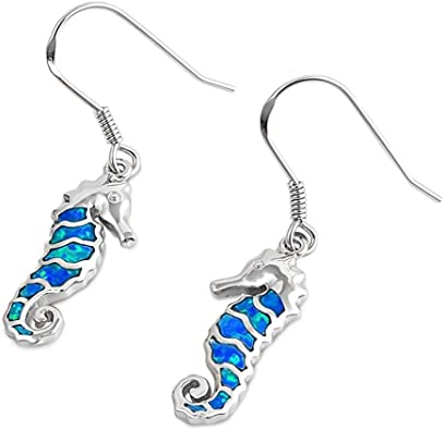 Glitzs Jewels 925 Sterling Silver Earrings with Stone Jewelry Gift