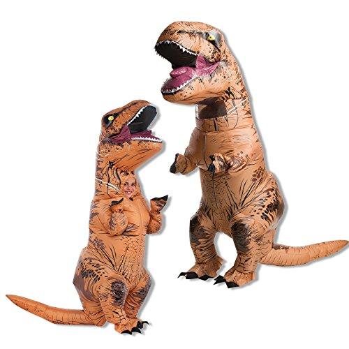 Jurassic World Adult And Child T Rex Costume Bundle