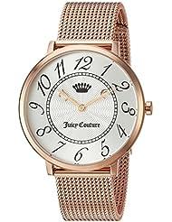 Juicy Couture Womens LA ULTRA SLIM Quartz Gold Casual Watch(Model: 1901557)