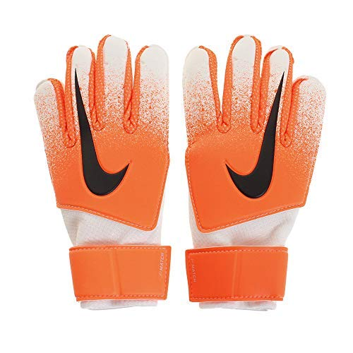 Nike GK Match Goalie Glove (ORNG/WHT/BLK, 5)