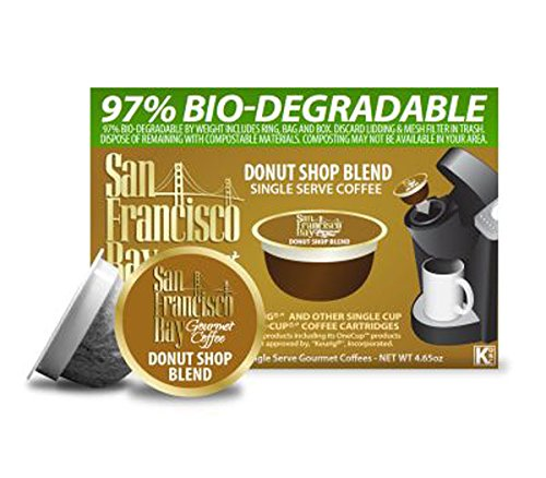 San Francisco Bay Coffee OneCup 72 ct. Donut Shop Blend