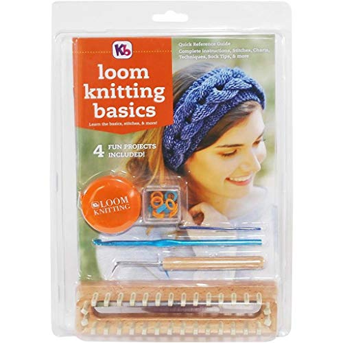 Authentic Knitting Board Loom Knitting Basics Kit Knitting Looms