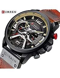 Curren Mod 8329 Relógio Masculino Esportivo Original Curren Lanç. 2019