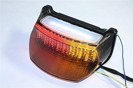 Motorcycle Led Tail Brake Light For Kawasaki Ninja Zx-7R Zx750 Zx-7Rr Gpz 1100 Zx1100 Smoke