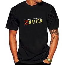 Custom Z Nation Men o neck t shirt Black
