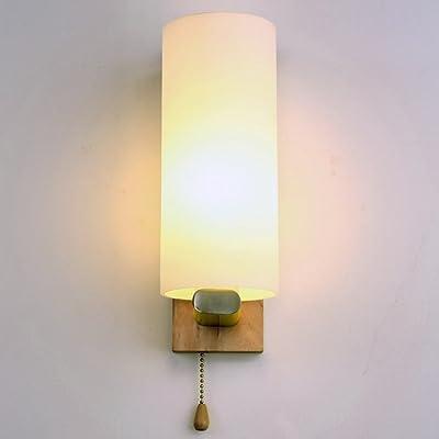 Jia Applique Murale De Chevet Allège Les Lampes De Mur Led En Bois