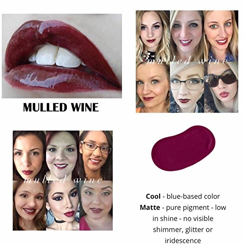 LipSense Bundle - 1 Color & 1 Glossy Gloss - Mulled Wine