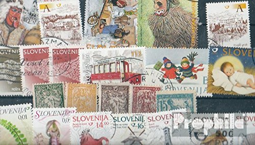 Slovenia 25 Different Stamps (Stamps for Collectors)