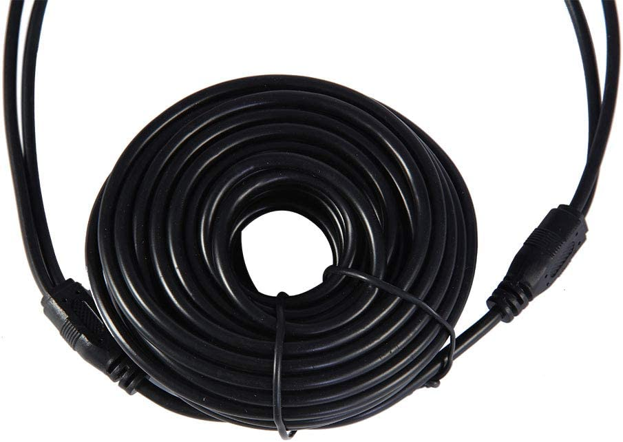 RONSHIN Audio Video Cable Generic 10M Car RCA+Dc Video Power Integrated Line