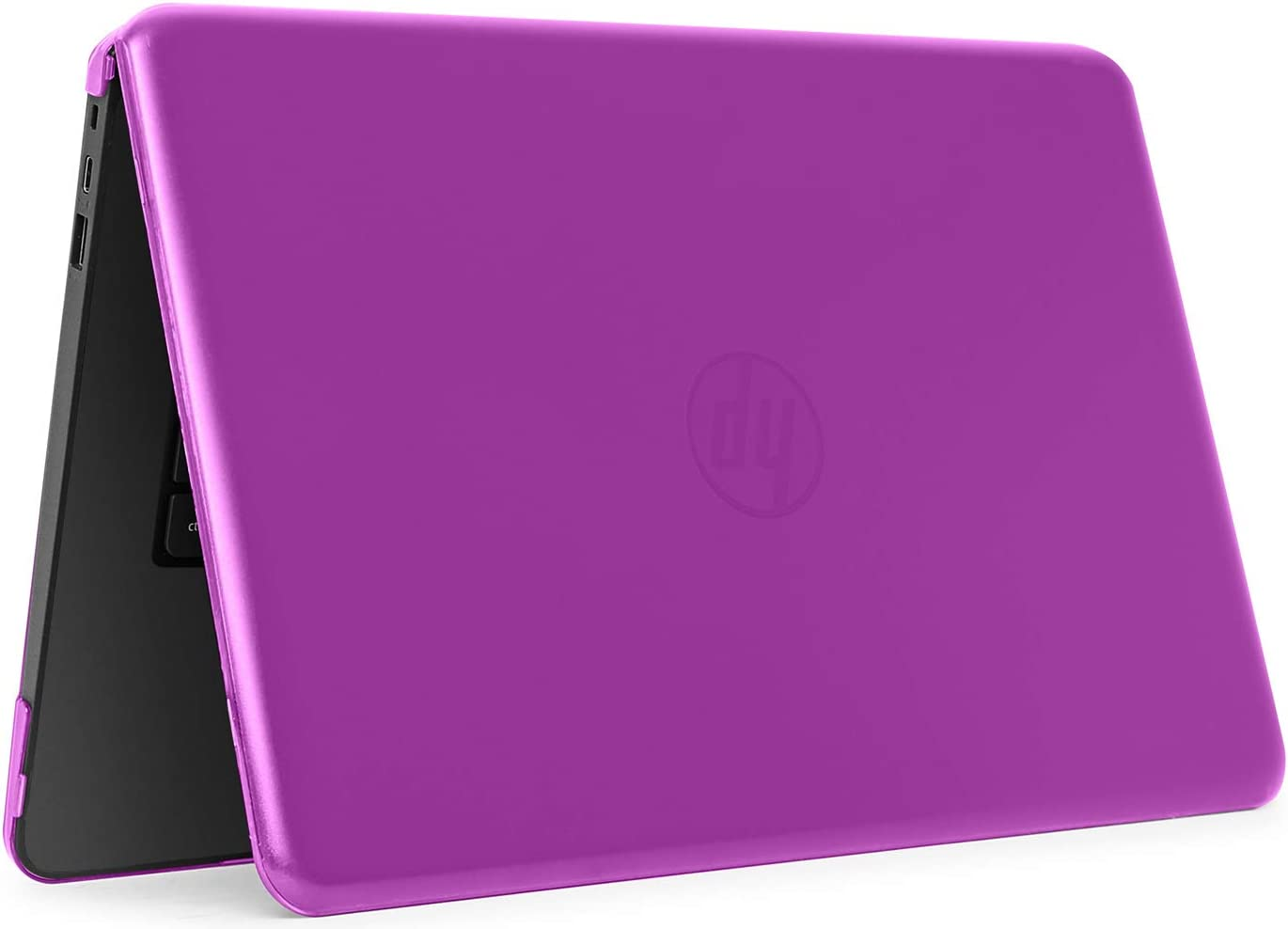 "iPearl mCover Hard Shell Case for 14"" HP Stream 14-AX000 14-CBxxx series (NOT compatible with HP Stream 14 Zxxx and HP Chromebook 14 G1/G2/G3/G4 series) Windows laptops (HP S14-AX) (Purple)"