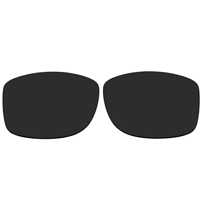 0e818fd49a ACOMPATIBLE Replacement Polarized Lenses for Oakley Jupiter Squared  Sunglasses OO9135 (Black)