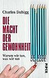 img - for Die Macht der Gewohnheit book / textbook / text book