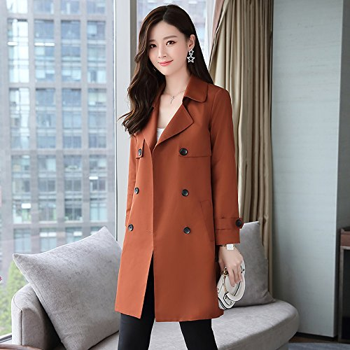 Stylish Windbreaker Female Long A Female SCOATWWH With Replacing Brown Jackets nbsp;Female Autumn Women'S Coats Jacket amp; wX5wqAz