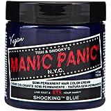 スペシャルセットMANIC PANICマニックパニック:Shocking Blue (ショッキング・ブルー)+ヘアカラーケア4点セット