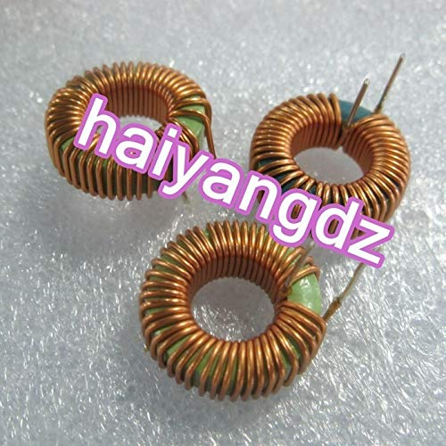 Maslin 3pcs//20mm 8052-100UH Magnetic Ring inductors 8A 0.8 Line Annular inductance Magnetic Ring inductors