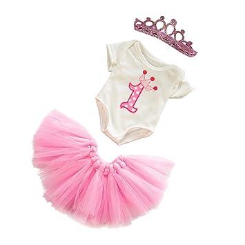 Amazon.es: perfeclan Conjunto de Corpiño y Falda de Princesa de ...
