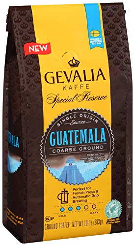 Gevalia Special Reserve Coarse Ground Guatemala Ground Coffee, 10.0 oz