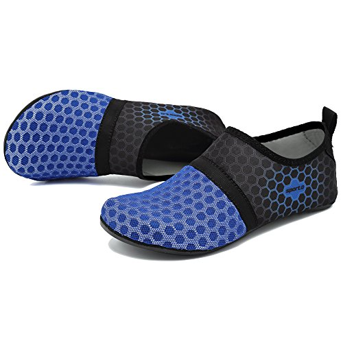 Drying ByBetty Women Yoga Mens Swimming Beach Quick Water Blue Diving Socks Breathable Shoes Snorkeling Unisex Shoes U1qx1Aw
