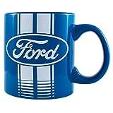 Silver Buffalo FO0134 Ford Blue Logo Ceramic Mug, 20 oz, Multicolor