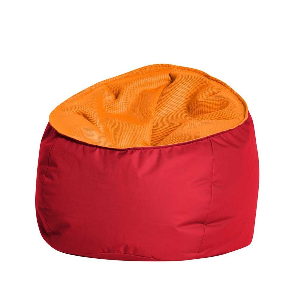 Pharao24 XXL Sitzsack in Rot Orange