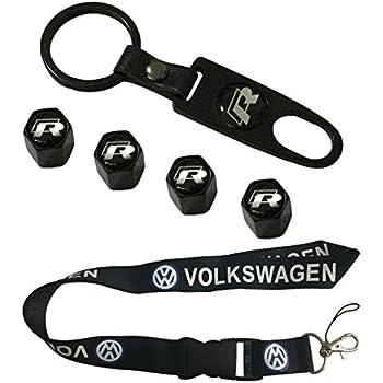 Amazon.com: Nueva 1pcs Volkswagen Llavero Lanyard Badge ...