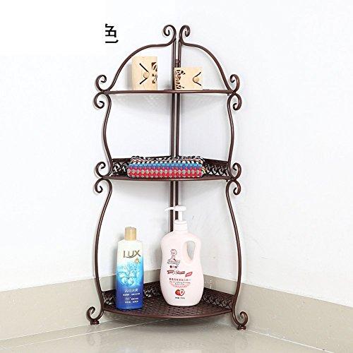 Wall Mounted Basin Stand - Bathroom racks/Toilet triangle floor stand/storage rack/toilet wall wash-basin/storage shelf-B
