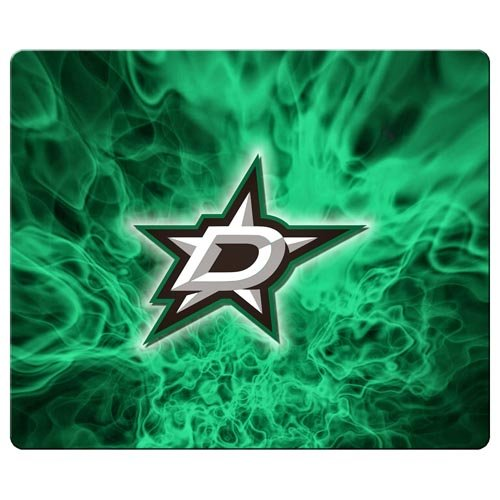 fan products of 30x25cm / 12x10inch gaming mousemats cloth rubber tracking performance Excellent for All Mouse Types Dallas Stars NHL Ice hockey logo