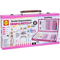 Alex Toys Art Studio Expressions Drawing & Sketch Case Set