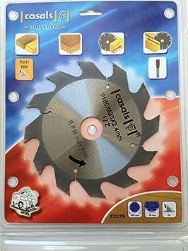 Disco Lama Per Sega Circolare Per Legno 140X12,75X2,4Mm Z=30 Nuovo