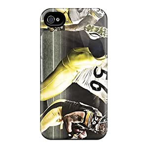 Nqv5827TGUE Pittsburgh Steelers Fashion 4/4s Cases Covers For Iphone