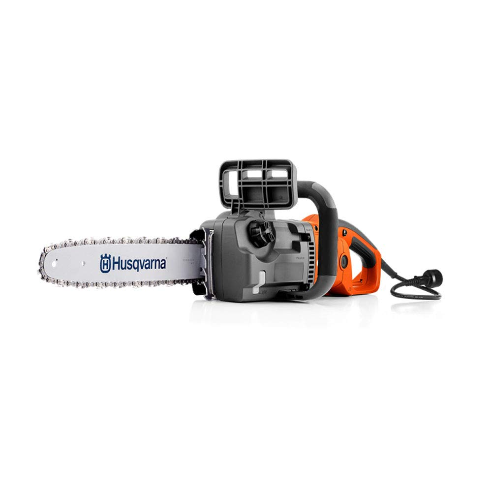 Husqvarna 967256101 414EL Corded Chainsaw, Orange