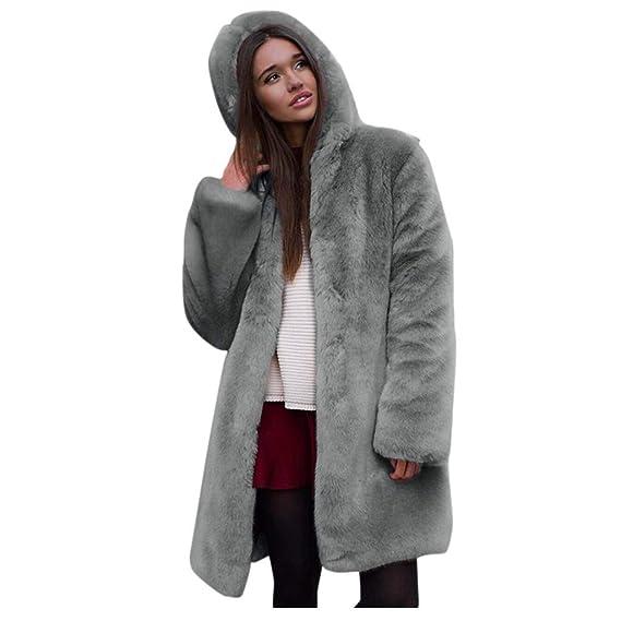 Manteau long femme en polaire