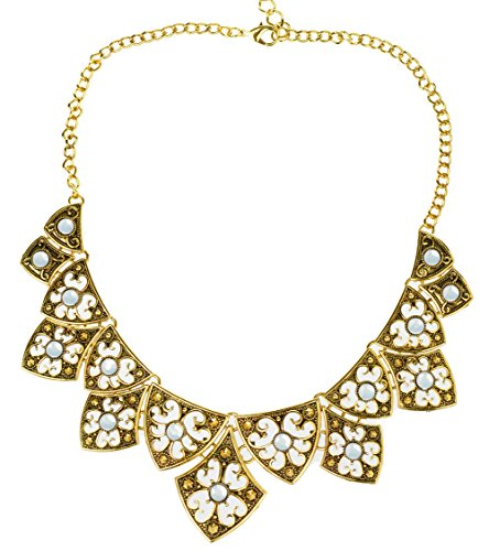 veenajo-gold-and-silver-tone-hollow-out-flower-design-geometic-choker-necklace-for-xmas-gift