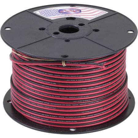 Wireless Solutions - 16ga 2 conductor Red/Black Zip cord/ 500 ft. by Wireless Solutions