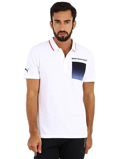 Puma BMW Camisa de Polo para Hombre, Hombre, Blanco: Amazon.es ...
