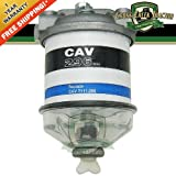 C7NN9165C New Ford Tractor Fuel Filter Assy with Glass Bowl, Single 2000, 3000+