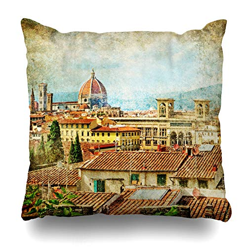 AlliuCoo Throw Pillow Covers Square Size 16