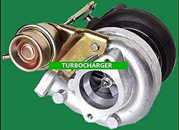 GOWE Turbocompresor para gt2871 GT25 GT28 T25 T28 GT2860 Turbo turbocompresor refrigerado por agua aceite .64 a/R: Amazon.es: Coche y moto
