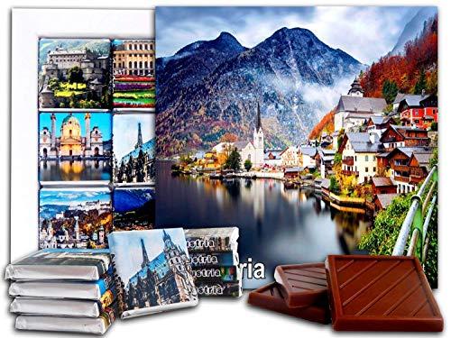 ouvenir AUSTRIA Chocolate Gift Set 5x5in 1 box (Church Prime)(2158) ()