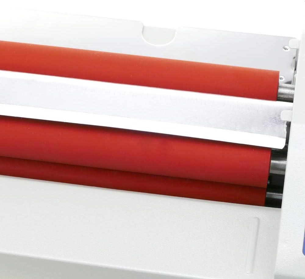 PrimeMatik Plastificatrice a caldo A3 Laminatore di documenti caldi e freddi 500W