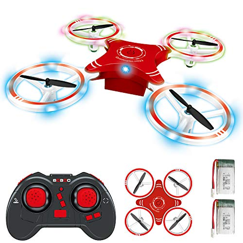 BOBOO Mini RC Drone for Kids,Foldable RC Quadcopter with Altitude Hold Mode,One-key Take-off & Landing, 3D Flips…