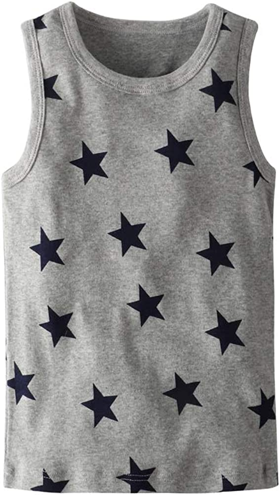 HUAER/& Toddler Boys 2-3 Pack Tank Tops
