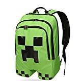 Best Minecraft Bookbags For Boys - Minecraft ThinkGeek Licensed Minecraft Creeper Backpack Review