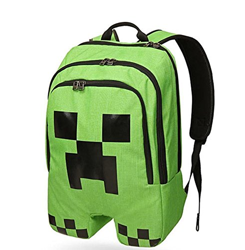 ThinkGeek Officially Licensed Minecraft Creeper Backpack