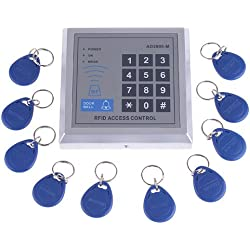 KKmoon RFID Proximity Door Entry Access Control System + 10 Key Fobs