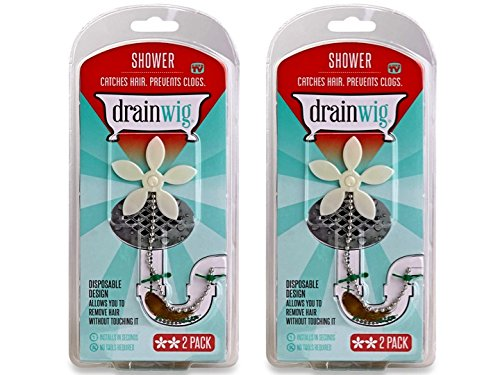 drainwig-shower-drain-hair-catcher-two-2-packs-never-clean-a-clogged-drain-again